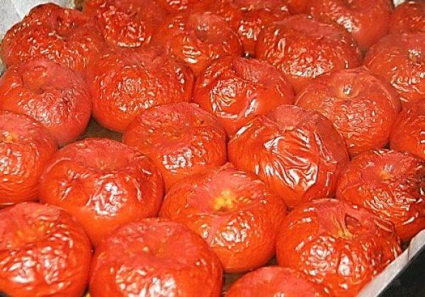 רסק עגבניות אפויות